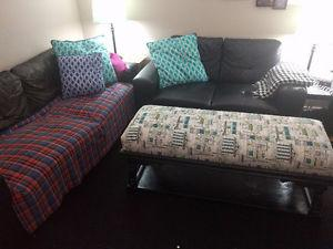 Inexpensive 3 piece living room set (Couch, Love Seat and