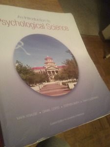 Intro Psychology - PSYCH  textbook - University of