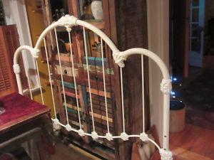 Just like New..Old Fashioned Looking Queen Headboard..White