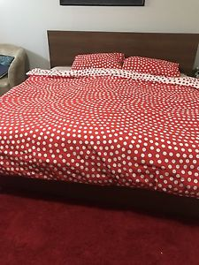 King size bed with matress