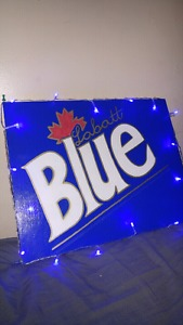 Labatt Blue Sign (HandMade)