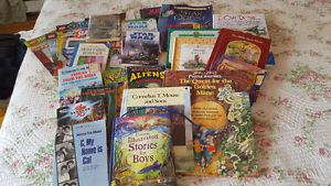 Large lot of children's books