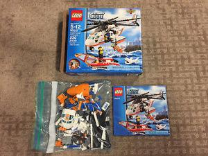 Lego City Coast Guard Helicopter Set