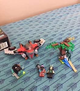 Lego Guardians of the galaxy set and Lego dimensions set