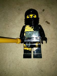 Lego Ninjago Digital Alarm Clock with Sword