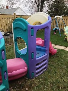 Little Tykes climber and swing set for Sale