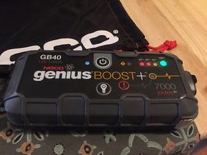 NOCO Genius GB40 Boost+ Jump Starter and Power Bank,