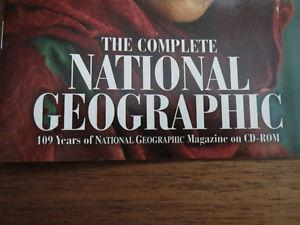 National Geographic on cd-rom