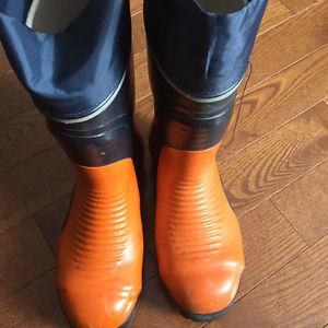 New Rubber Boots Size 7