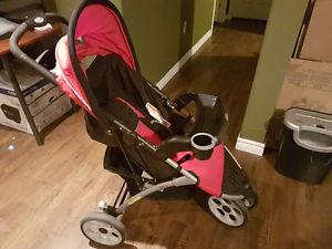Cavalier 2 Chariot Double Jogger Stroller Posot Class