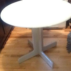 Silver grey wood table w 4 chairs your choice