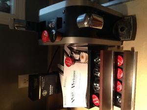 Starbucks Verismo coffee maker + drawers