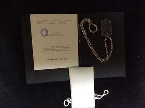 Stunning David Yurman limited edition pendant/necklace