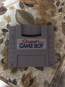 Super gameboy for Super Nintendo