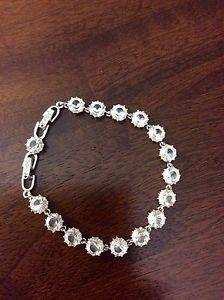 Swarovski style crystal bracelet