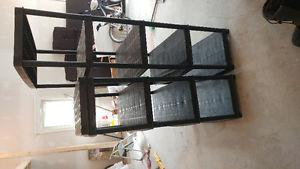 Two Plastic Shelving Units 25$