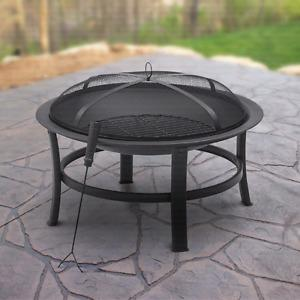 Wanted: ISO. above ground fire pit