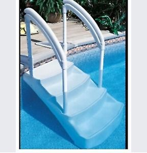 Wanted: Pool steps for above ground pool (not ladder)