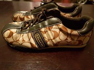 Woman's Coach shoes sz 6.5