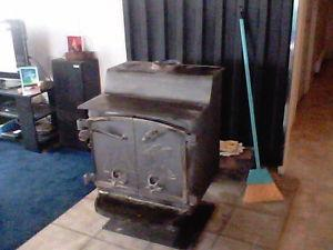 fisher wood stove /piping