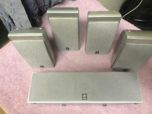 yamaha 5.1 speakers set also magnetic shielding