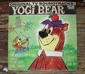 yogi bear and Boo Boo many more Kids Records in stock