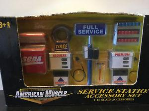 1:18 scale diorama Service Station Tools for 1/18 diecast