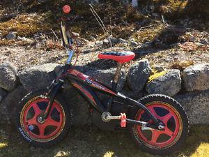 14 inch Lightening MacQueen bike