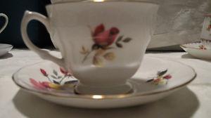 2 Queen Anne Tea Cups