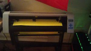 24 inch redsail vinyl cutter with stand