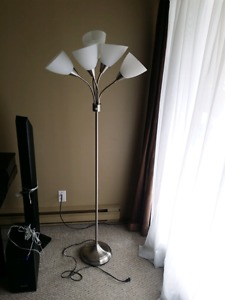 5 Light Floor Lamp and Similar 3 Light Desk Lamp