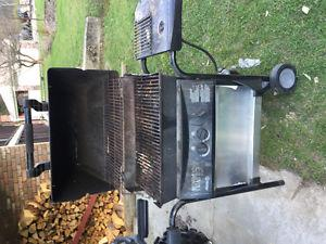 BBQ works good. Fridge needs repair