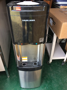 Black and Decker stainless hot/cold water dispenser