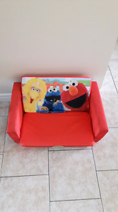 Children's Sesame Street fold out couch