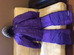 Columbia winter jacket and ski pants