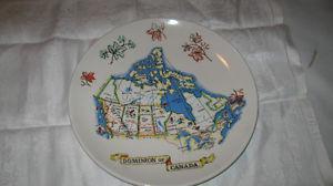 Decorative Plate Dominion Of Canada