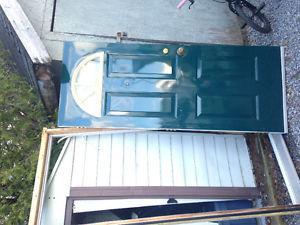 Door and screen door