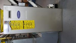 Ducted heating furnace, gas