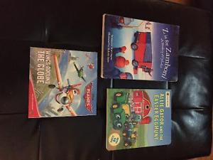 Four like new books for kids