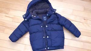 Gap boys winter jacket size XS