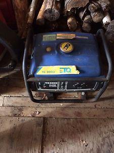 Generator need it gone ! Make an offer!