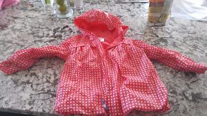 Girls size 2 spring/rain jacket