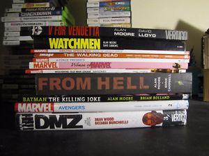 Graphic Novels TPB comics Old man Logan Allan Moore DMZ