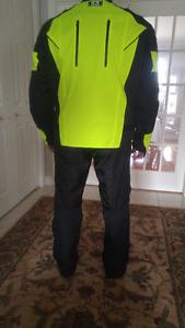 """Jo Rocket"" Sports Gear; Motorcycle Jacket and Pants"