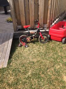 Kids Bike, Wagon and Picnic Table