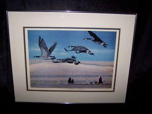 """LIMITED EDITION """"FORMATION"""" BY THOMAS BOYKO GEESE IN FLIGHT"""