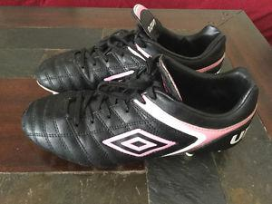 Ladies umbro soccer cleats size 8.5