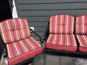 Like new complete patio set for sale