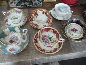 "Lovely Collection Of 6 Beautiful ""Paragon"" Cups And Saucers"