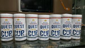 Molson Canadian Mini Stanley Cup Set
